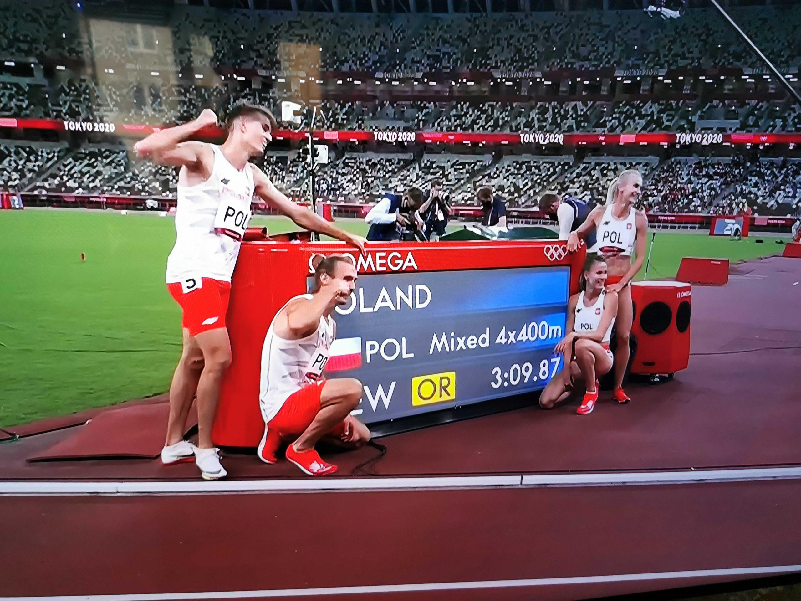 Złoto olimpijskie dla polskiej sztafety!