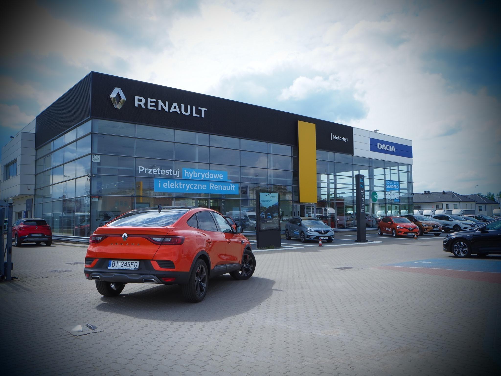 Renault – Motozbyt będzie z nami na stadionie.